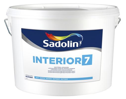 Краска Sadolin INTERIOR 7